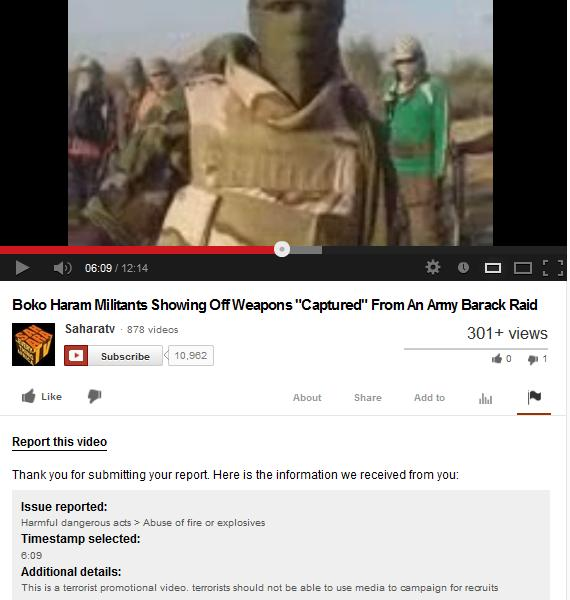 SaharaReporters Please Take Down Your Boko Haram Recruitment Promotion Video